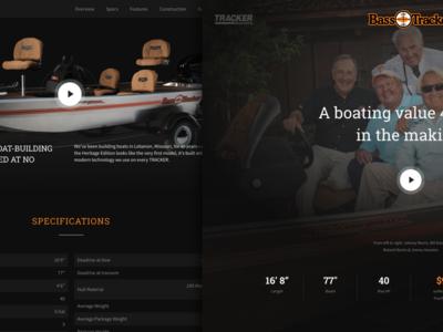 Tracker Heritage Boat Website