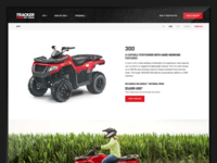 Tracker Off Road Website