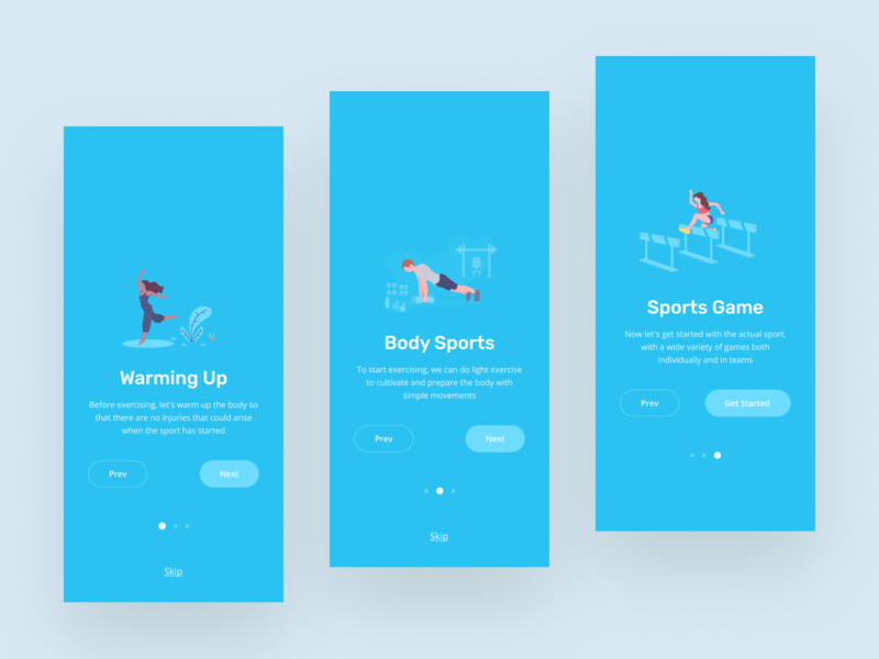 Onboarding Page for Sports App ui design ui  ux onboarding screen sport app sports sport onboarding screens onboarding ui onboarding onboard mobile app design mobile app mobile app ui app ux uiux uidesign ui design