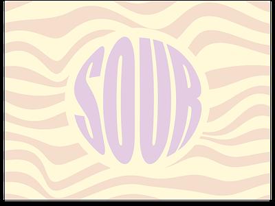 SOUR graphic design ux ui logo branding vector minimal illustrator illustration design art