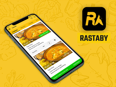 RASTABY delivery app e-commerce online shopping food delivery