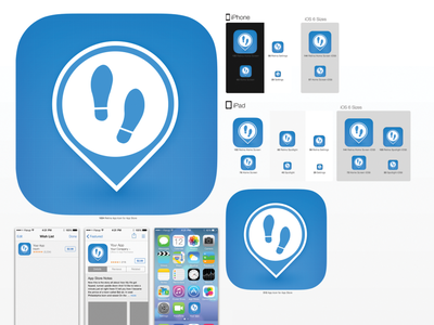 FollowMe AppIcon ios icon app icon