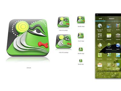 Kerala Tourism ORG maya 3d icon app icon android icon