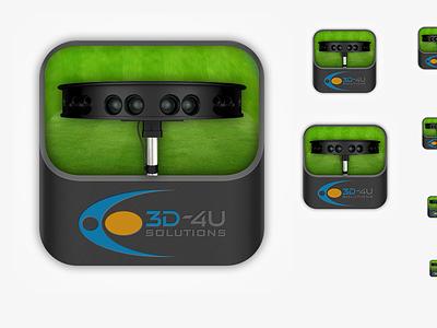 3DAppIcon app icon maya 3d