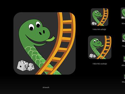 Snake Ladder AppIcon icon app icon