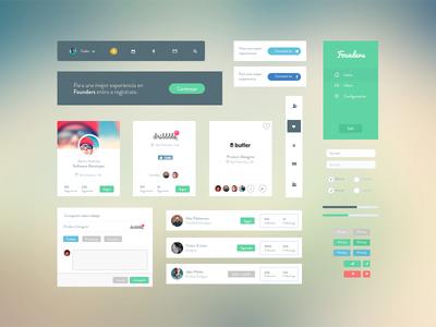 Founders UI Kit