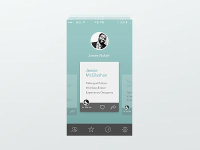 Home mobile app icon user home cards lima peru design