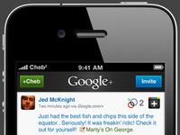 Google+ iPhone Client