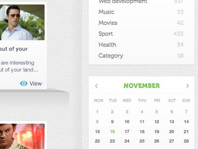 Elastique's upcoming blog page (extended RHS frame) design ux ui interface blog elastique