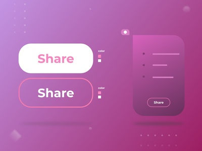 """Share Button"" - Challenge 009"