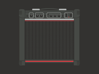 Amplifier - Flat Design My Bedroom Series