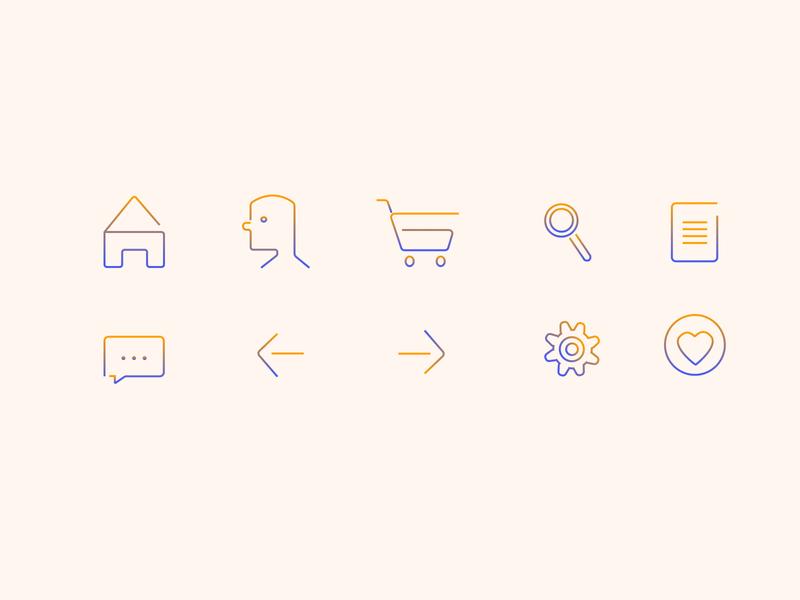 Daily Ui-icon set