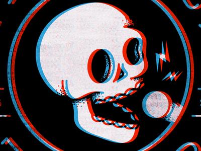 Stereoscopic Skull