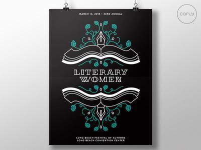 Literary Women '15 - Unused Concept