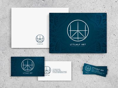 Lttlwlf Art Brand Identity