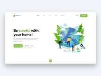 Nature reserve - Website Design Concept