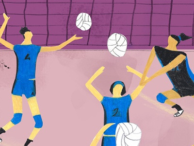 Training_ Volley volley uniform women ball team