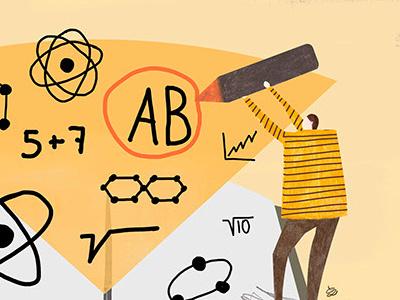 Memorize memorize math numbers man brain