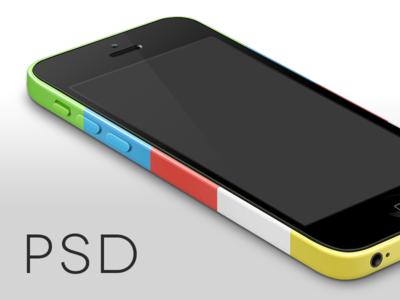 iPhone 5c Template template iphone 5c iphone 5s iphone 5 mockup mock perspective