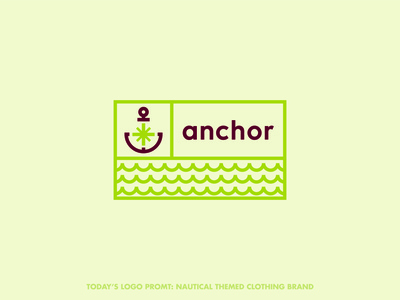 Anchor clothing (day 10 of 99)