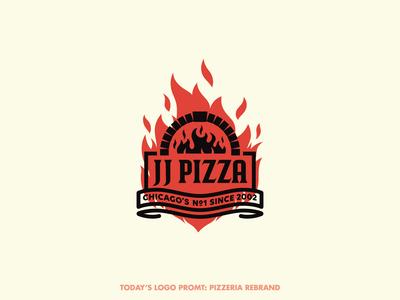 JJ Pizza rebrand (day 13 of 99)