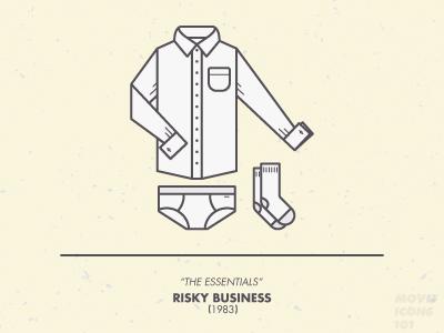 Movie Icons 101 - No. 6 Risky Business
