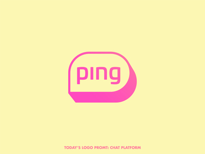 Ping chat platform (day 4 of 99)