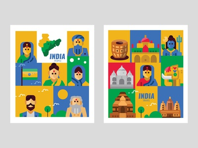 India Travel and People Banner