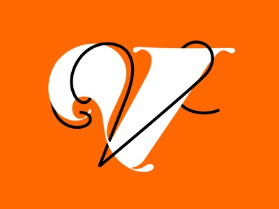 Letter V 36 days of type minimal custom type graphic lettering type graphic design design typography