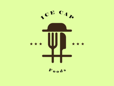 Ice cap foods - logo foods logo uae