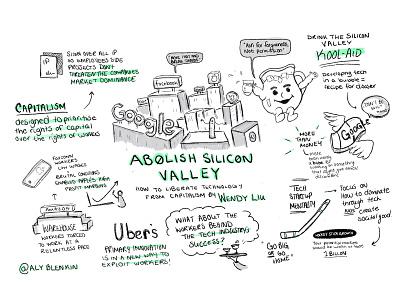 Abolish Silicon Valley (part 1) illustration illustraion drawing art