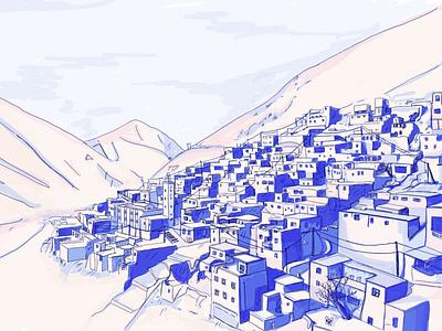 Morocco sketch illustraion design illustrator illustration artwork drawing art
