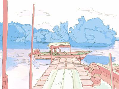 Singapore design illustration artwork illustraion drawing art