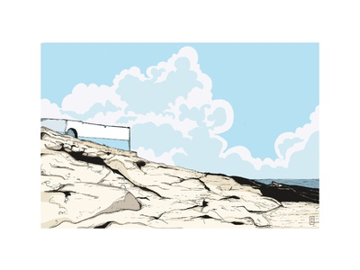 Wild Sky ink illustrator illustration artwork illustraion drawing art
