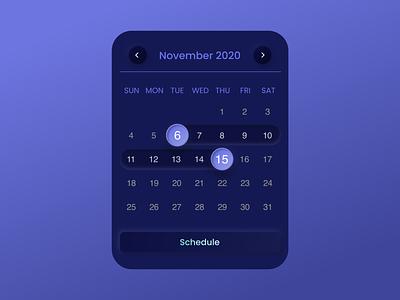 Neomorphic time picker gradient design gradients planning schedule app schedule dailyuichallenge neomorphic neomorphism dark ui daily ui dates date picker datepicker date time timepicker