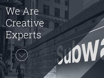 SUBWAY - Creative HTML5 Template portfolio responsive html5 template