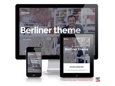 BERLINER - Creative Bootstrap HTML5 Template creative bootstrap html5 template portfolio agency photography freelancer personal onepage