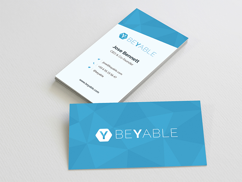 Business Card by Benjamin Eggen - Dribbble