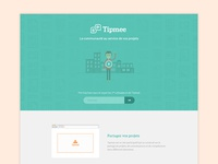 Landing Page - Tipmee