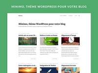 Minimo - WordPress theme
