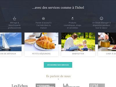 Homepage - Squarebreak press shadow luxury babysitter holidays rental squarebreak features slider services homepage