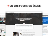 WordPress themes for french churches