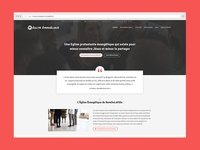 Epaphras, a WordPress theme for french churches
