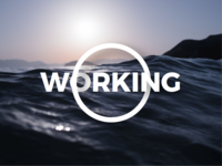 Working (for Dribbble)