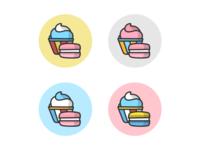 Cupcake Logo Concepts