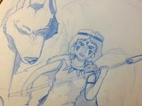 princess mononoke (wip)