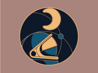 commemorative space travel pin