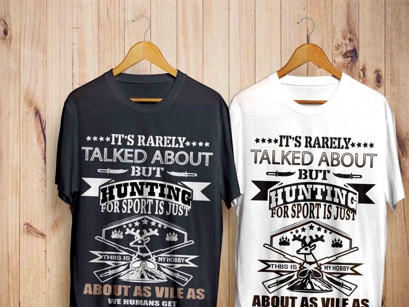 Hunting t shirt design bundle