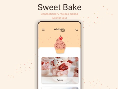 Sweet Bake brand design ux  ui uxuidesign uxui ux brand adobexd illustration ui design uidesign graphic design art graphicdesign