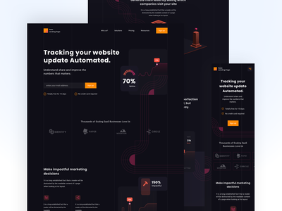 Analytics Website design web illustration colors typography landing page 2020 trend free sketch figma ui ux webdesign website analytic